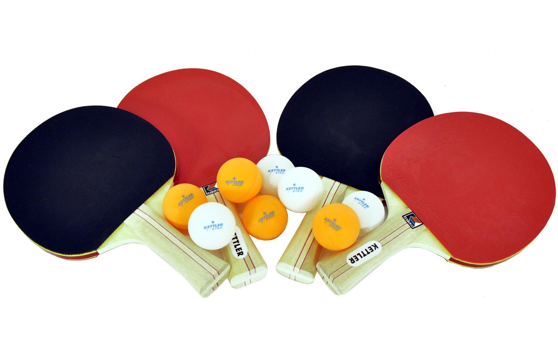 View larger  sc 1 st  Amazon.com & Amazon.com : Kettler Advantage Indoor Table Tennis Bundle: 4 Player ...