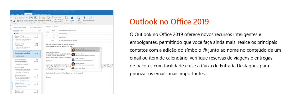 Office Home & Business 2019, Office 2019, Business, Empresas, Original, Outlook, escritório, Office
