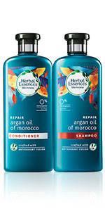 herbal essences Argan Oil of Morocco shampoo conditioner collection