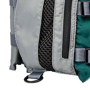MD//LG Hunter Green//Silver Gray MTI Adventurewear 36-44 MTI Striker Fishing Life Jacket