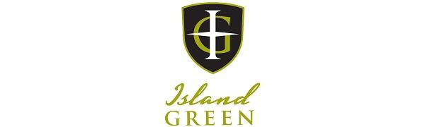 ISLAND GREEN GOLF LOGO