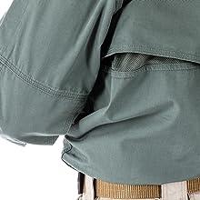 Integrated Drillex cape-back ventilation