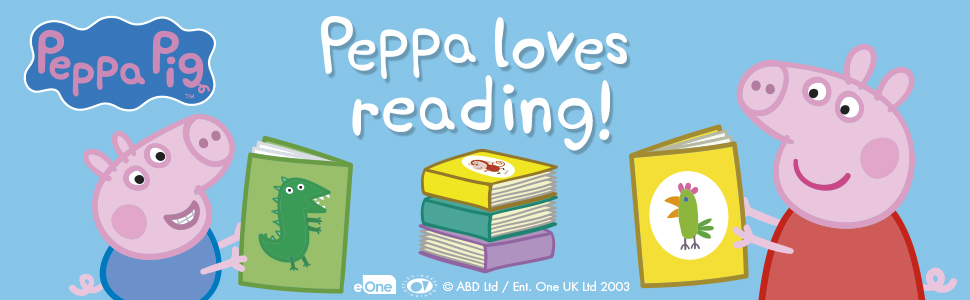 Peppa Loves Reading