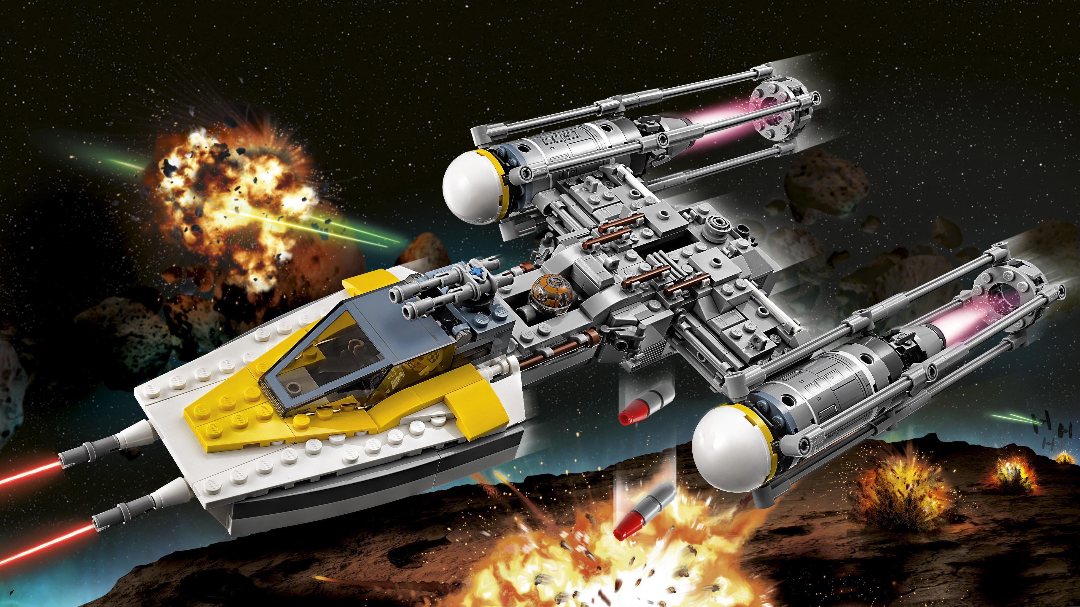 Lego star wars y wing starfighter 75172 - Lego star warse ...