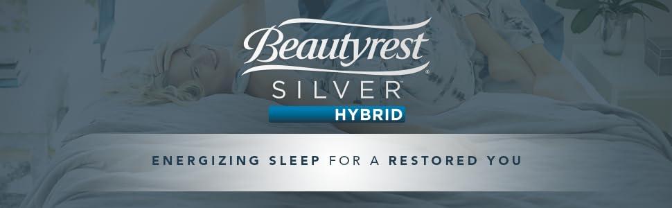 Amazon Com Beautyrest Silver Hybrid Firm 3000 Queen