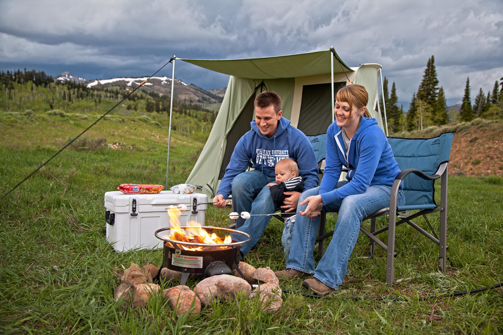 Amazon Com Camp Chef Redwood Portable Propane Fire Pit