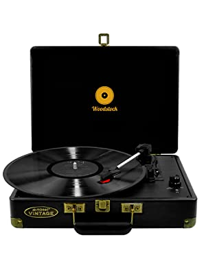 mbeat tr89blk turntable player