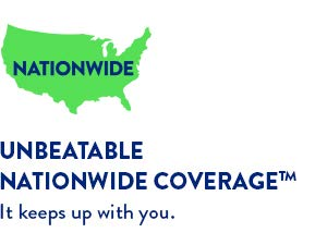 Unbeateable Nationwide Coverage
