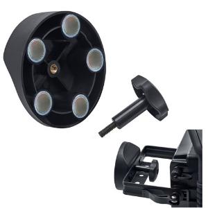 3000 lm, Etanche IP65, 3 Modes Eclairage, Autonomie max 10h Brennenstuhl Projecteur Hybride LED Portable DARGO 30W Noir
