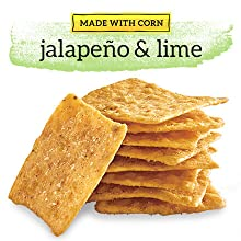 Good Thins Made With Corn Jalapeño and Lime