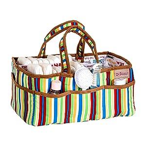 dr seuss storage caddy, primary color storage caddy, diaper caddy