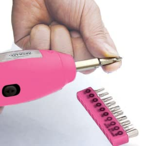 cordless screwdriver pink
