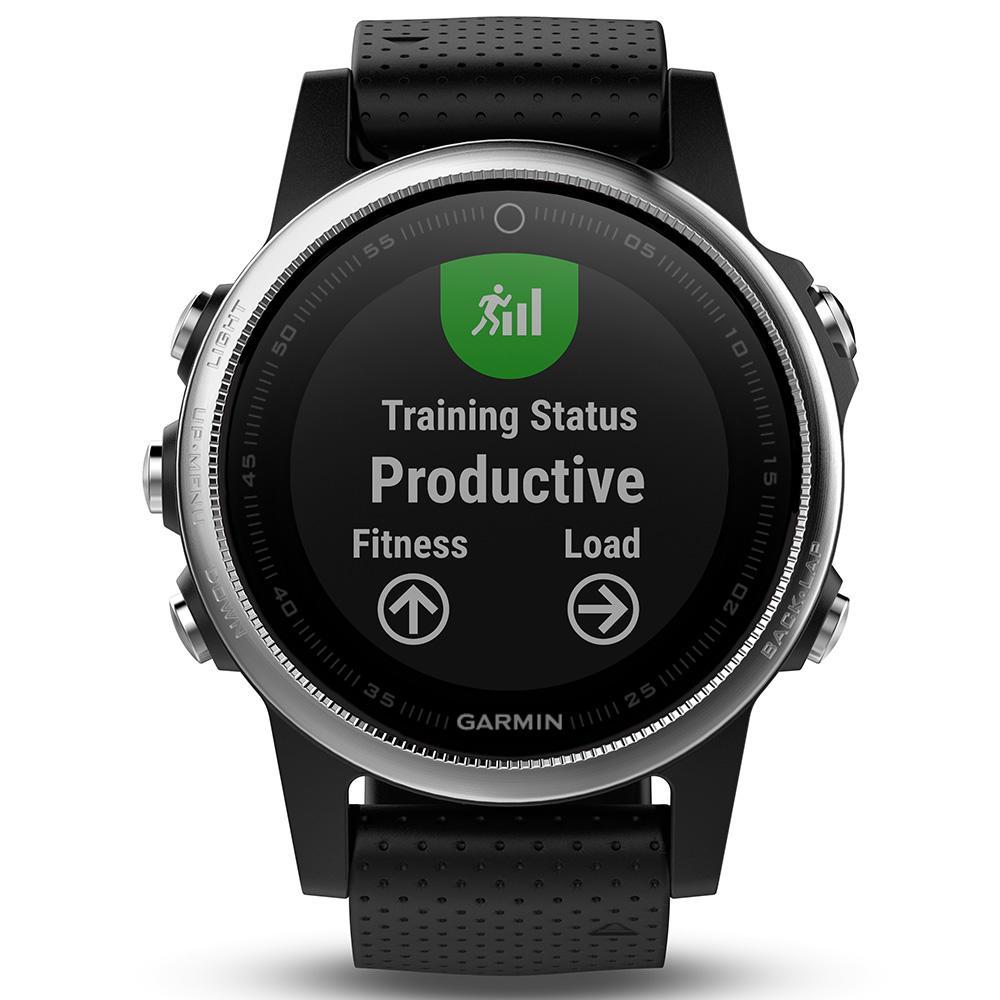 Garmin 010-01685-02 Fenix 5s GPS Watch WW, Silver With