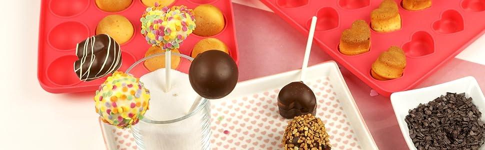 Lurch 85127 - Palitos para FlexiForm Cake Pops (100 Unidades)