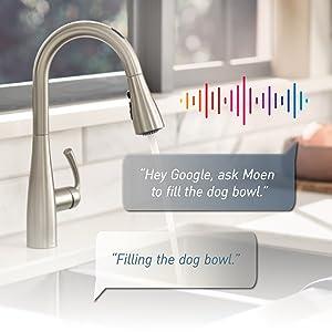 u by moen smart faucet custom presets