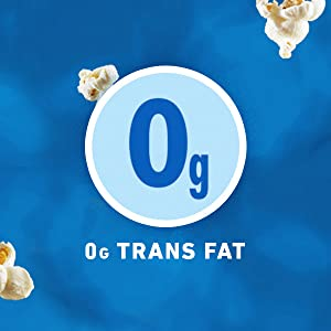 Delicious and airy snacking with 0g trans fat per serving — yes, please!