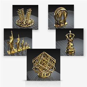 free online gallery, 3D models
