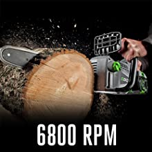 EGO, cordless chain saw