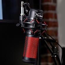 hyperx, microphone, stream, streamer, pc, audio, gaming