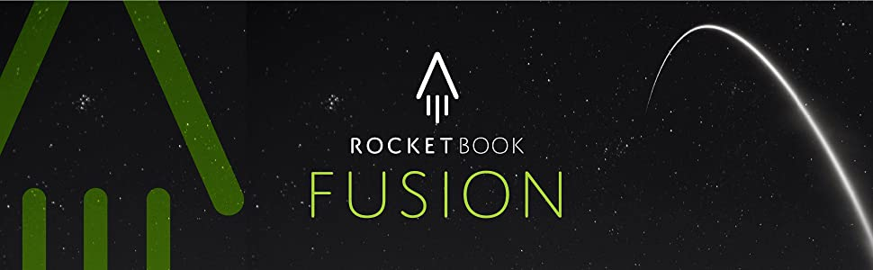 Rocketbook, Rocketbook fusion, rocketbook notebook, reusable notebook, notebooks, back to school,