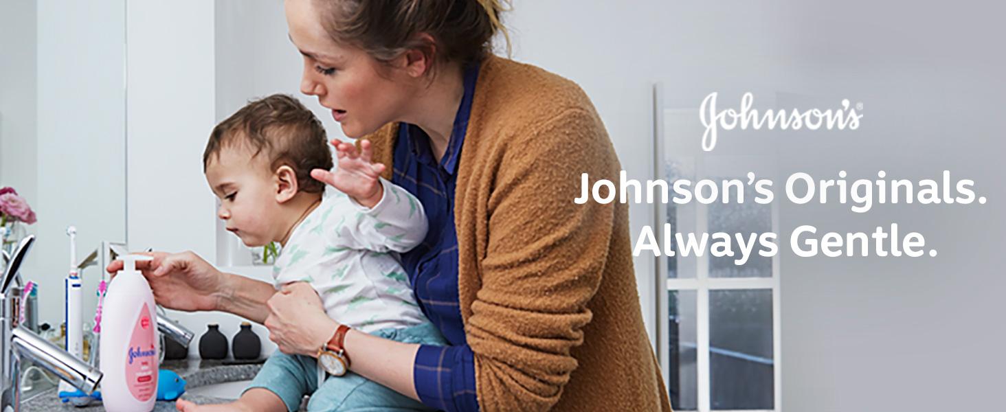 Johnson's Baby - Johnson's Originals Always Gentle.