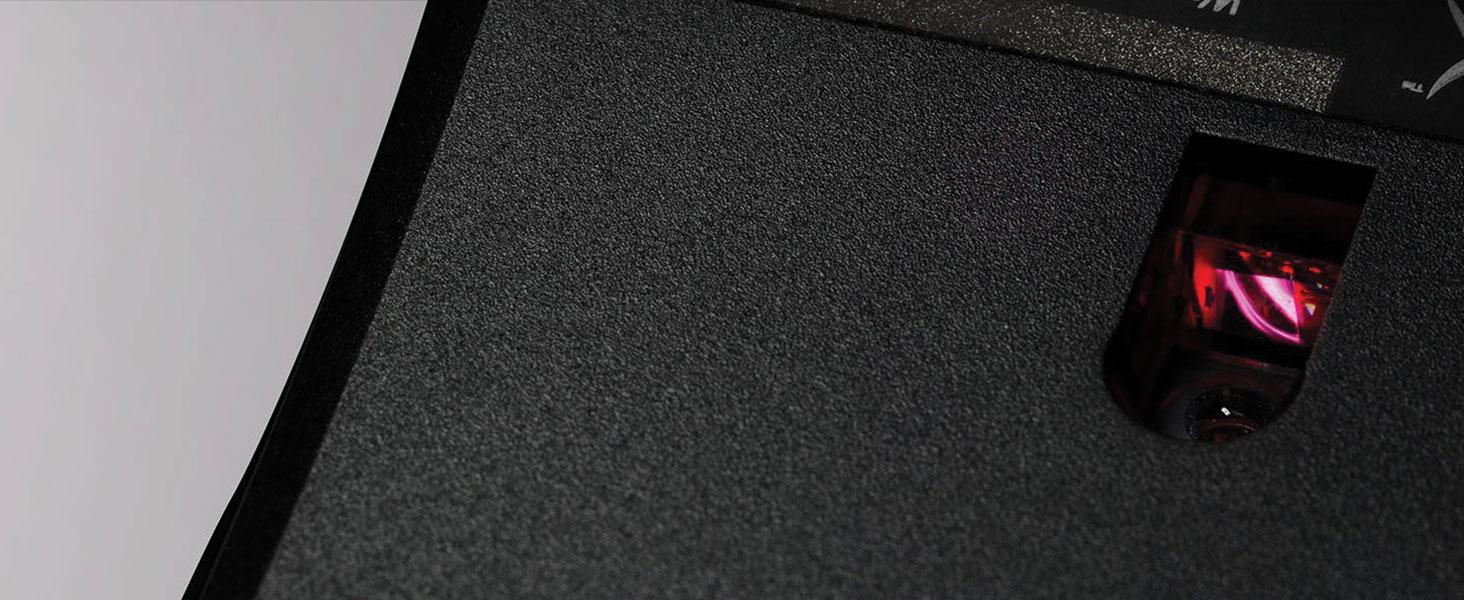 Pixart 3389 Sensor with native DPI settings up to 16,000