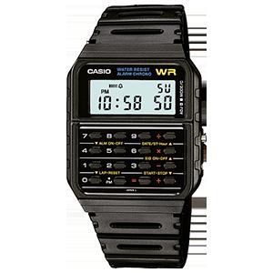 1c7297083da Casio CA-53W-1 Black Retro Style Unisex Digital Calculator Watch ...