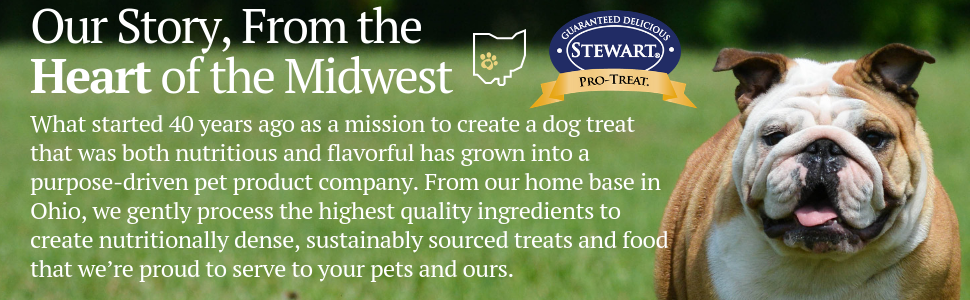 dog treats, Stewart, made in USA, natural, no fillers, chicken liver, training, tasty, love