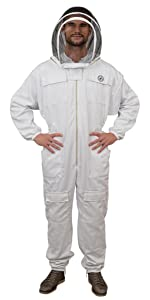 Humble Bee 411 Beekeeping Suit with Fencing Veil