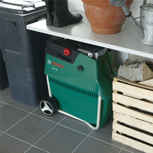 Bosch Home and Garden AXT 25 TC Biotrituratore, 2500 W, Nero/Verde