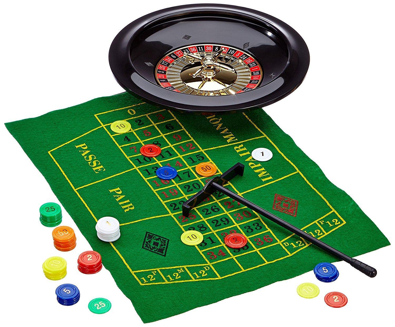 noris spiele 606104613 roulette deluxe set spielzeug. Black Bedroom Furniture Sets. Home Design Ideas