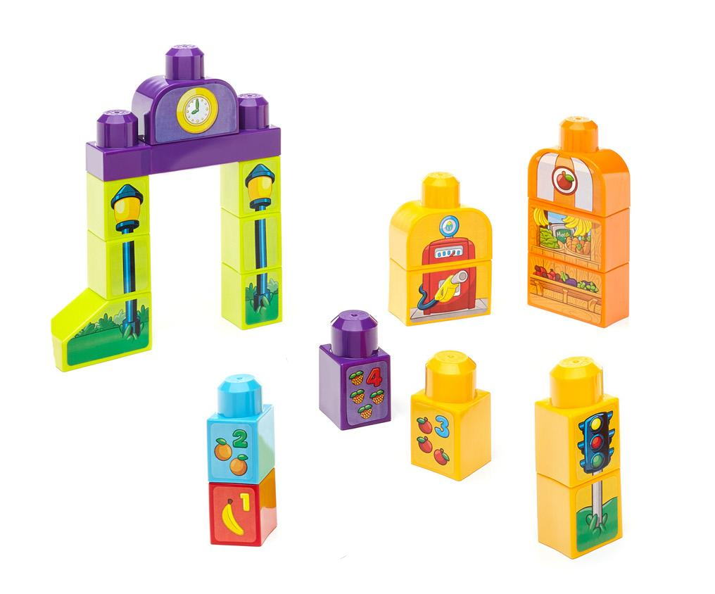 Amazon.com: Mega Bloks First Builders Build 'n Learn Table ...