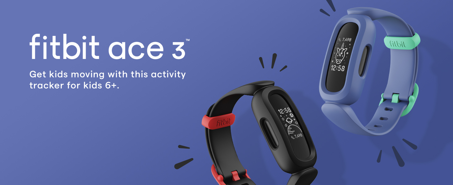 Fitbit Ace 3 - get kids moving with this activity tracker