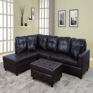 Prime Beverly Fine Funiture Ct93A Sectional Sofa Set 93A Brown Forskolin Free Trial Chair Design Images Forskolin Free Trialorg
