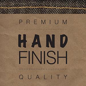 Hand finish.