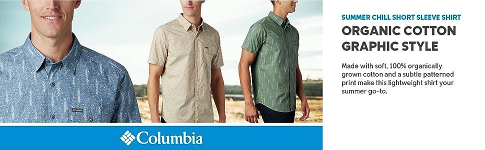 Columbia Men's Summer Chill Short Sleeve Shirt
