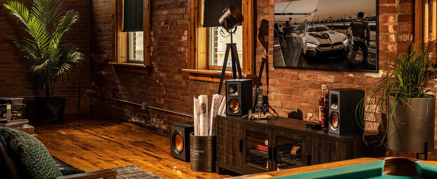 Klipsch, powered monitors, R-51M, R-41M, speakers