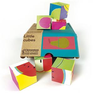 Clementoni cuántas piezas Little Cubes