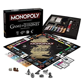 Winning Moves Monopoly Game of Thrones Collector's Edition