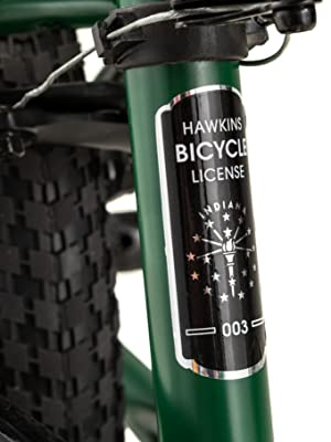Schwinn Stranger Things Lucas Replica Bike with 20-Inch Wheels, Green