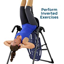 perform inverted exercises