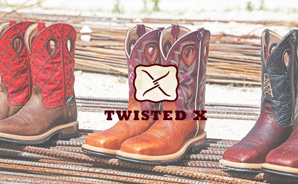 Twisted X Women's All Around Work Boot