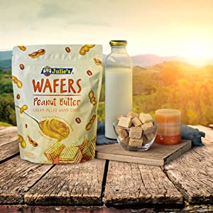 Julie's Peanut Butter Wafers