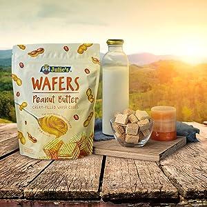Julie's Peanut Butter Wafers