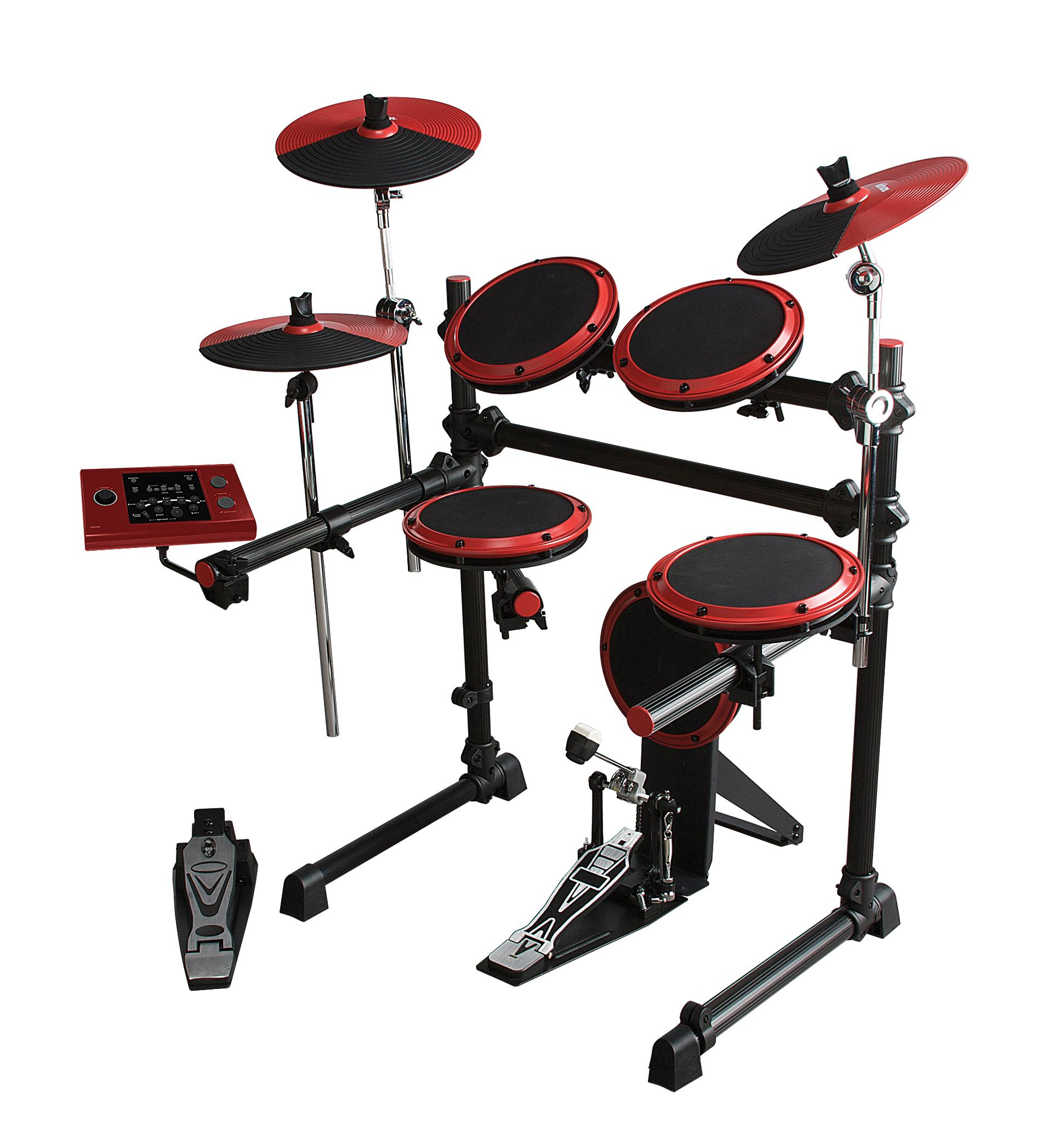 Amazon Com Ddrum Dd1 Digital Drum Set 100 Series Musical Instruments
