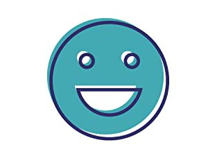 Illustration of a smiley face to represent a positive mood