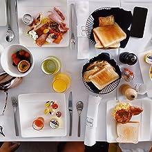 MESKO, desayuno, tostadora, sandwichera