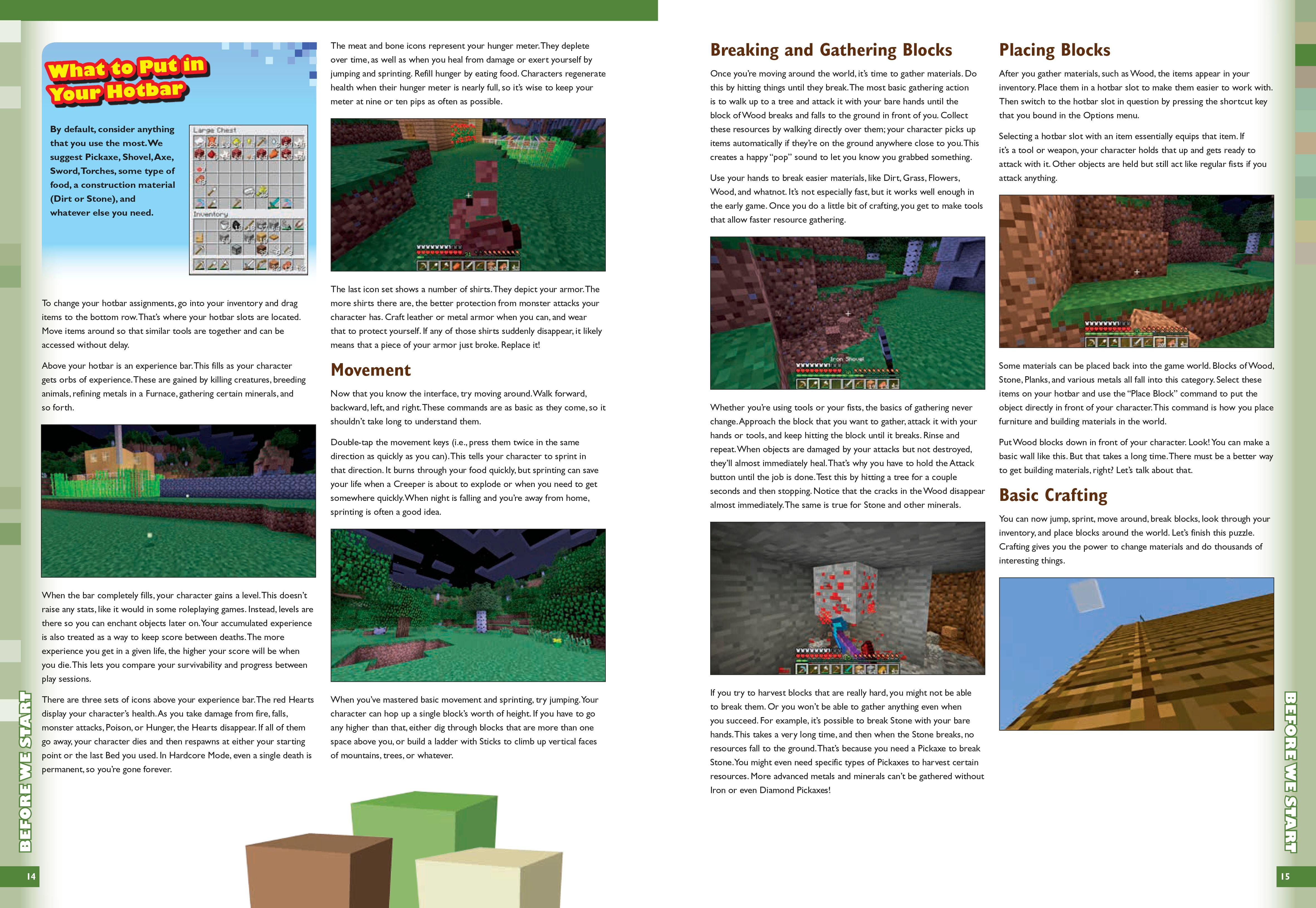 Taming The Wilds Mastering Minecraft Fourth Edition Michael 3 Way Switch Then To Hotbar Slot In Question By Pressing Shortcut Key That You Bound Options Menu