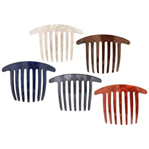 France Luxe Handmade French Twist Comb - Nacro Neutrals