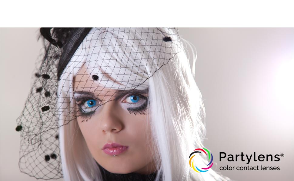 kleurlenzen, partylenzen, contactlenzen, kleurlens, cosplay, carnaval, halloween, festival